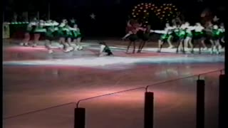 Entire Ice Skating Troupe Faceplants On Ice During Performance Disaster - Video
