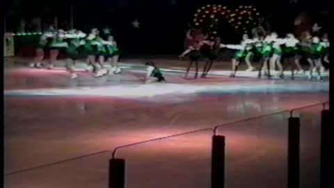 Entire Ice Skating Troupe Faceplants On Ice During Performance Disaster