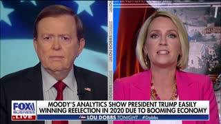 Moody's analytics show Trump easily winning reelection in 2020