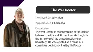 Timeline of The Doctor | Doctor Who