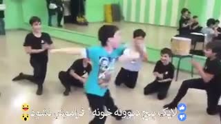 A Group of Azeri Boys Traditional Dance - Video