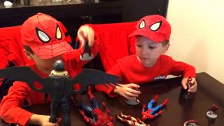 Spiderman Homecoming Toys Review - Video