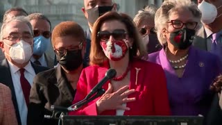 Nancy Pelosi Speaks to George Floyd: Thank You for Dying