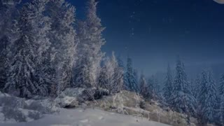 Calm Piano Music with Beautiful Winter Photos Soothing Music for Studying, Relaxation or Sleeping