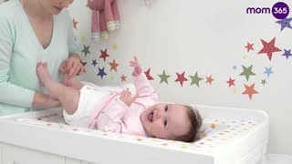 How to Change a Cloth Diaper  - Video