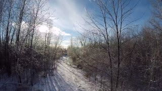 A Walk Through A Winter Wonderland  - Video
