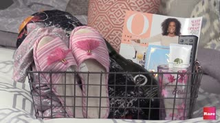 How to make an oasis basket with Elissa the Mom | Rare Life - Video