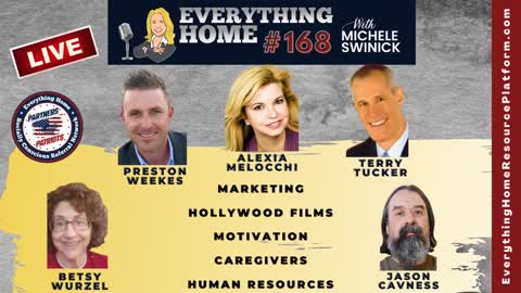 168 LIVE: Marketing, Hollywood Films, Motivation, Caregivers, Human Resources *TAKE OFF YOUR MASK*