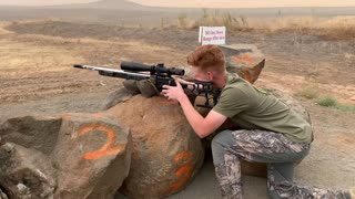 Precision Rifle Practice/ Rock Lake Rifle Range/ Sep 2020