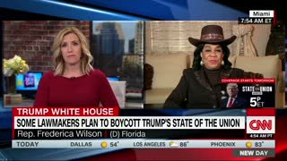 Frederica Wilson: Not going to SOTU because Trump is hateful to Black People - Video