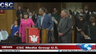 Rev Jesse Jackson Speaks At Portland Church Following Hate Fueled Incident - Video