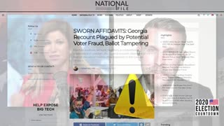 Georgia Election Fraud Witness Give Riveting Eye-Witness Testimony, Guest Interview!
