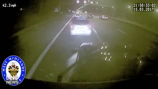 Dashcam Captures Terrifying Footage of M6 Truck Crash - Video