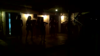Girls dance to Samba music