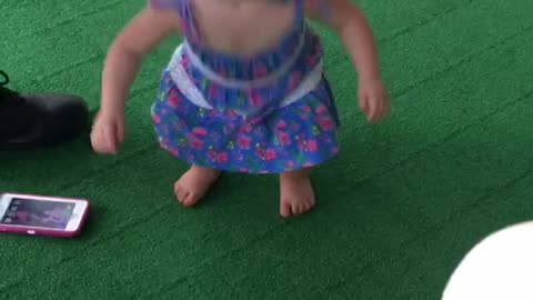 Baby dance party **