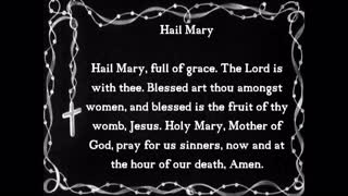 Glorious Mysteries of the Holy Rosary Sunday and Wednesday