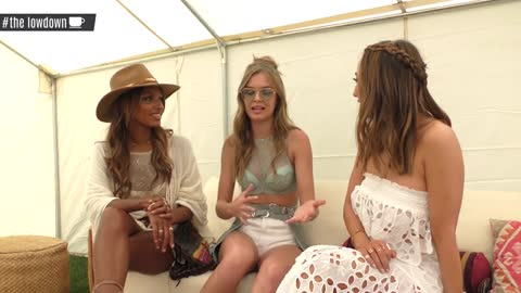 Victoria's Secret Model Alessandra Ambrosio Coachella 2017 Interview -The LowDown