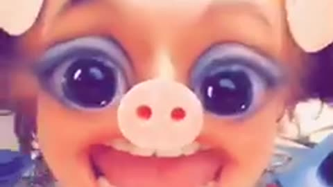 This little piggy nursery rhyme snap chat remix