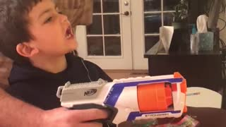 Nerf Gun Tooth Removal - Video