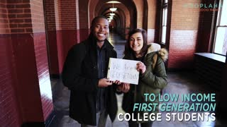 First Generation College Students Succeed At Georgetown University - Video