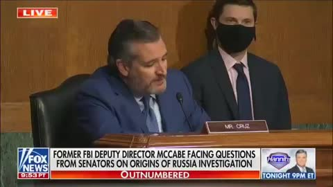 Ted Cruz and Andrew Mccabe