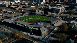 Flyby of High Point Stadium