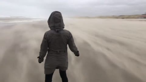Tense footage documents insane strength of Storm Ciara