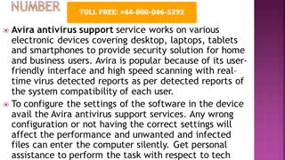 Avira Antivirus Support Phone Number +44-8000465292 - Video