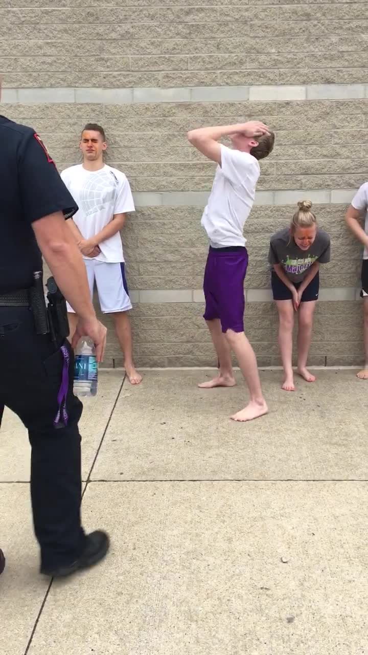 Full video teen arrest pepper spray
