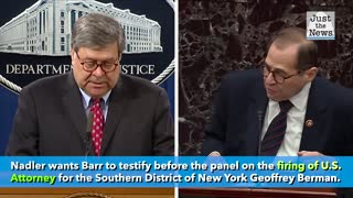 Nadler planning to subpoena Barr