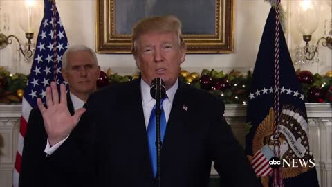 Trump on Israel: 'Today We Finally Acknowledge The Obvious'