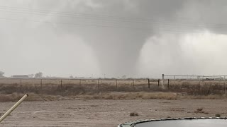 New Mexico Tornado Approaches