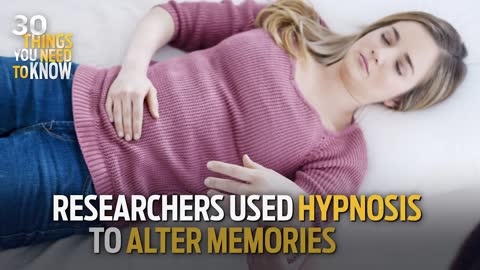 Scientists Used Hypnosis to Alter People's Memories