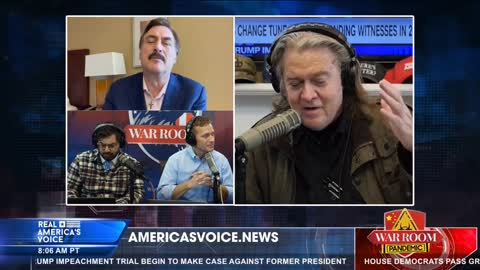 Bannon and Lindell team up to promote Absolute Proof