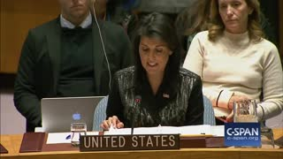 Nikki Haley Slams Iran In U.N. Speech: 'The World Will Be Watching What You Do' - Video