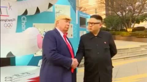 'Trump' & 'Kim' Get 'Special Escort' Out of Olympics Opening Ceremony