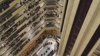 Thousands of Choir Students Sing National Anthem
