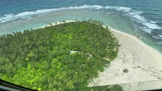 Missing boaters rescued after Air Force crew spots 'SOS' on Pacific island