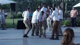 NBA players perform epic groomsmen dance - Video