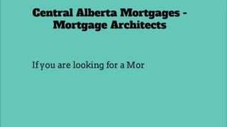 mortgage broker red deer - Video