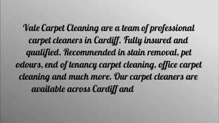 carpet cleaners Cardiff - Video