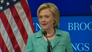 Clinton says would penalize Iran for small violations - Video