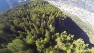 Epic wingsuit proximity flight over breathtaking scenery - Video