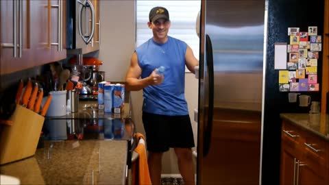 Wife surprises husband in funny pregnancy announcement