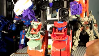 TRANSFORMERS Combiner Wars MOC UPGRADE vs PERFECT EFFECT UPGRADE - Video