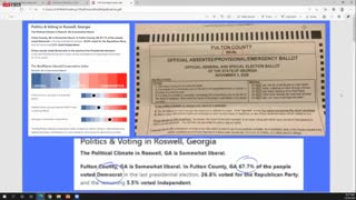Jovan Pulitzer - Georgia Senate ballot fraud detection