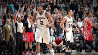 Kawhi Leonard BEASTS James Harden with CLUTCH BLOCK During MVP Duel - Video