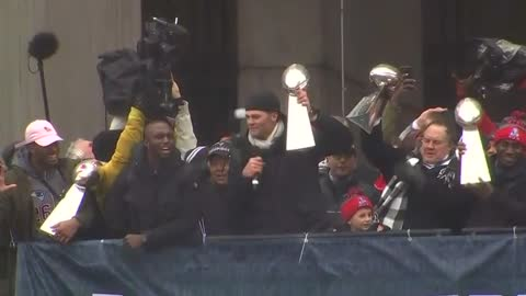 Patriots bring home the Lombardi Trophy