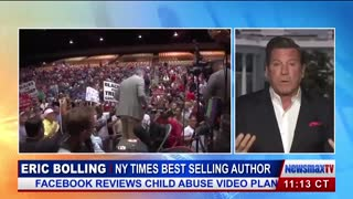 Eric Bolling — Trump Rally Crowd Wrong That CNN Sucks, Acosta Sucks - Video