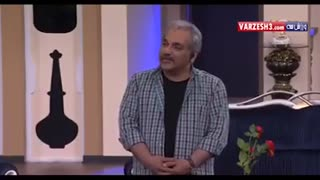 Mehran modiri making joke about TV sport reporters - Video